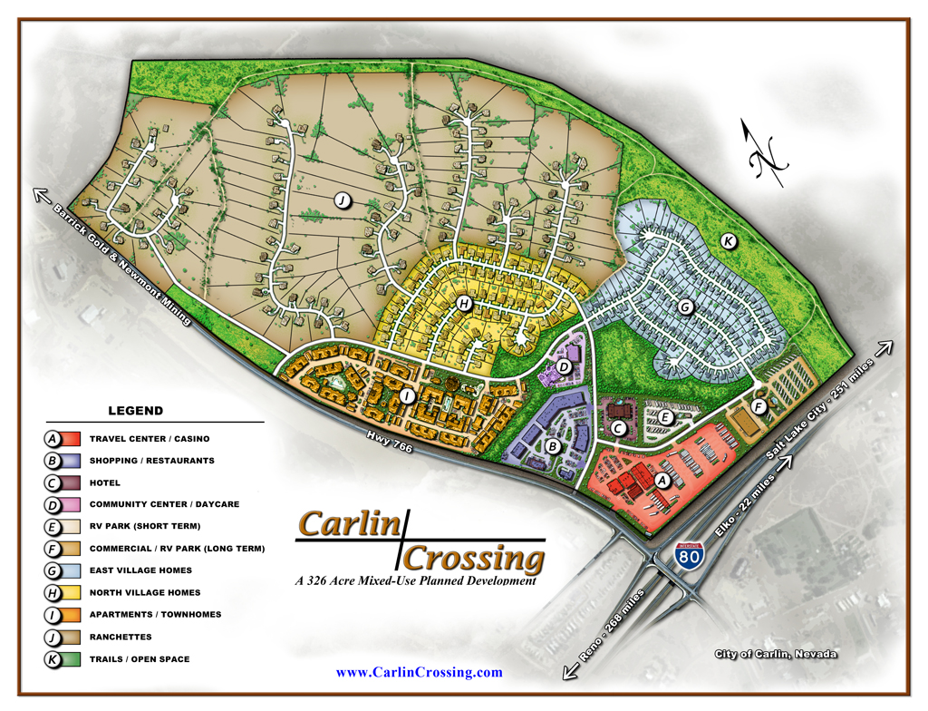 Carlin Crossing Rendering